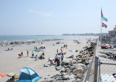 Wells Beach Patio View