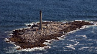 Boon Island Light Aerial View