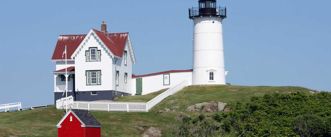 Cape Neddick Lighthouse Maine Coast