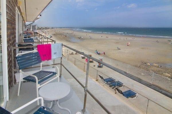 Balcony View Of Wells Beach