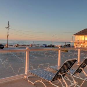 Deck At Sunrise